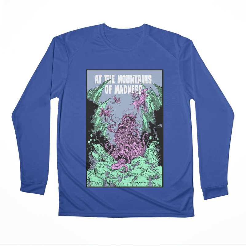 At The Mountains of Madness Men's Performance Longsleeve T-Shirt by Nick the Hat