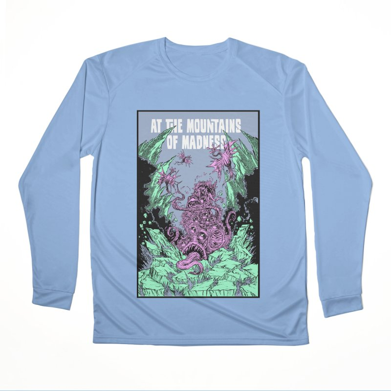 At The Mountains of Madness Men's Longsleeve T-Shirt by Nick the Hat