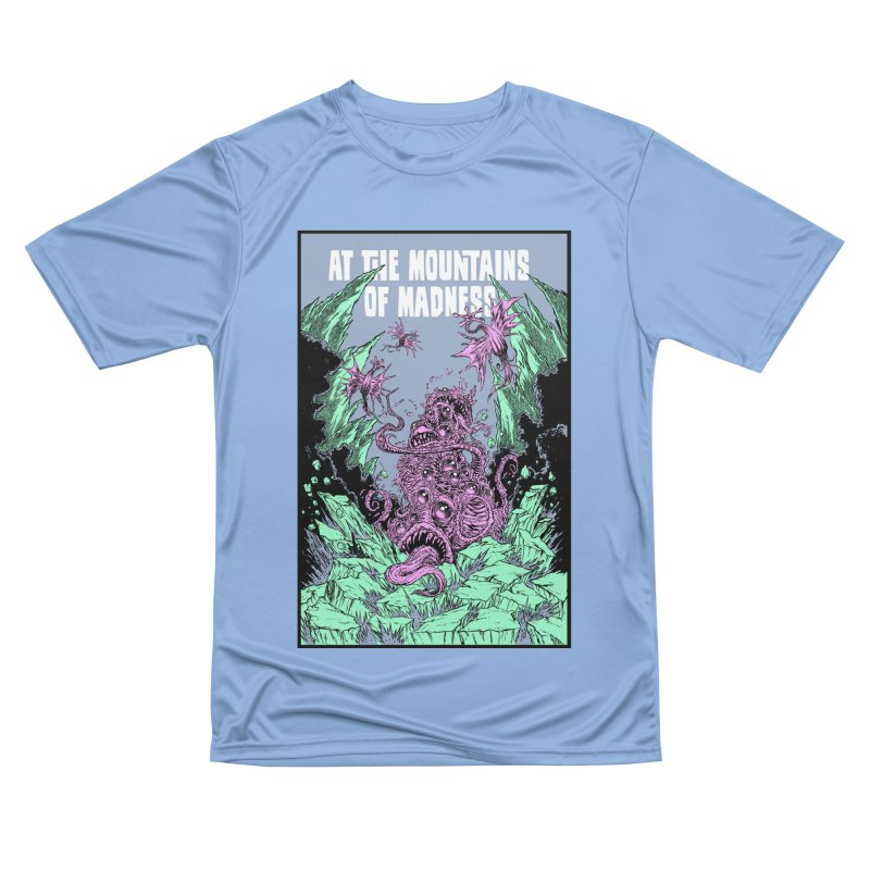 At The Mountains of Madness Women's Performance Unisex T-Shirt by Nick the Hat