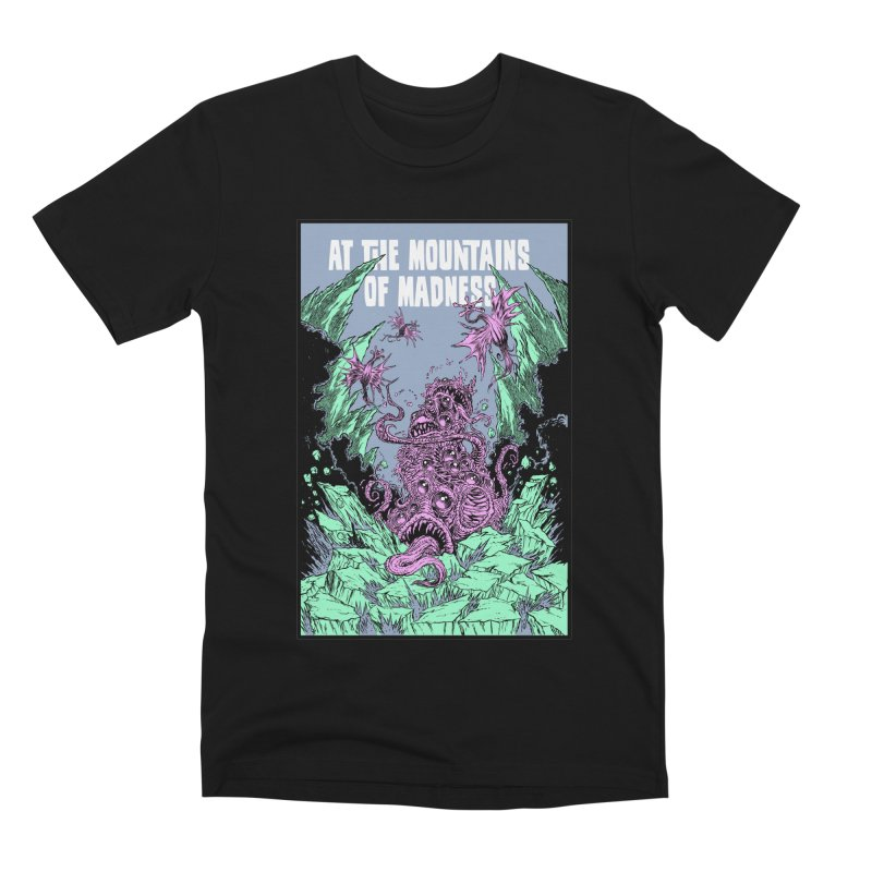 At The Mountains of Madness Men's Premium T-Shirt by Nick the Hat