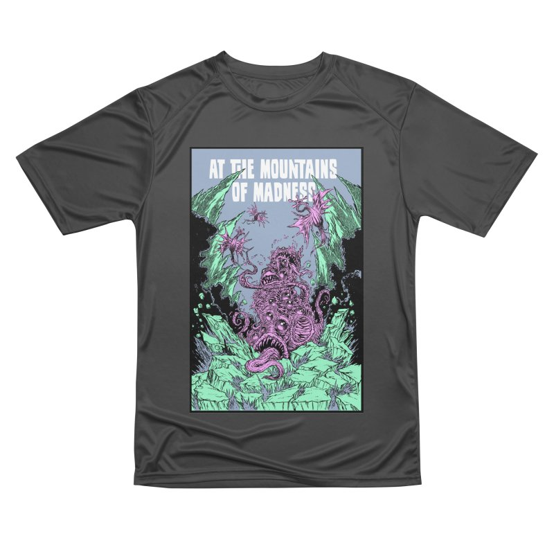 At The Mountains of Madness Men's Performance T-Shirt by Nick the Hat