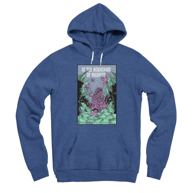 At The Mountains of Madness Women's Pullover Hoody by Nick the Hat