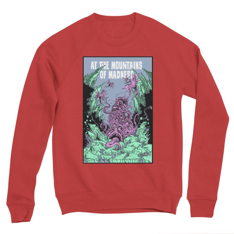 At The Mountains of Madness Women's Sponge Fleece Sweatshirt by Nick the Hat