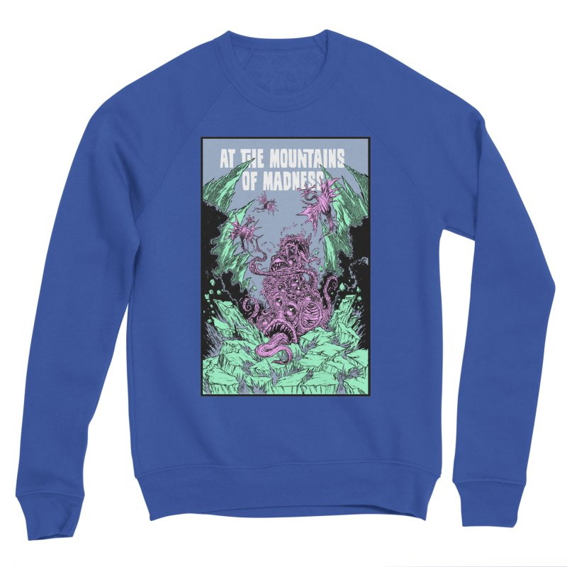 At The Mountains of Madness Men's Sweatshirt by Nick the Hat