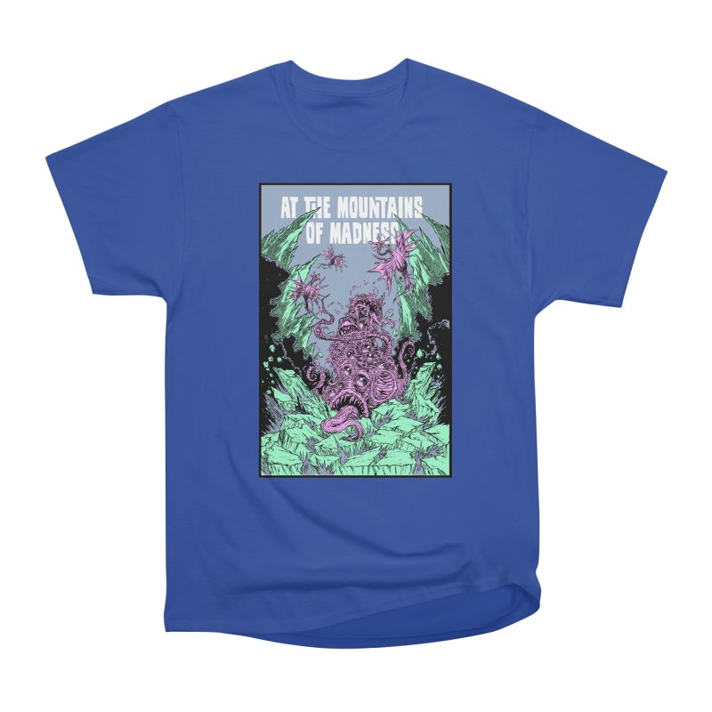 At The Mountains of Madness Women's Heavyweight Unisex T-Shirt by Nick the Hat