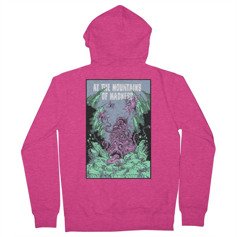At The Mountains of Madness Women's French Terry Zip-Up Hoody by Nick the Hat