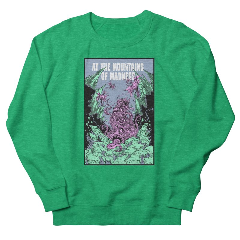 At The Mountains of Madness Women's French Terry Sweatshirt by Nick the Hat