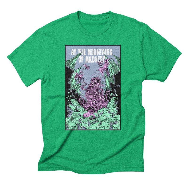 At The Mountains of Madness Men's Triblend T-Shirt by Nick the Hat