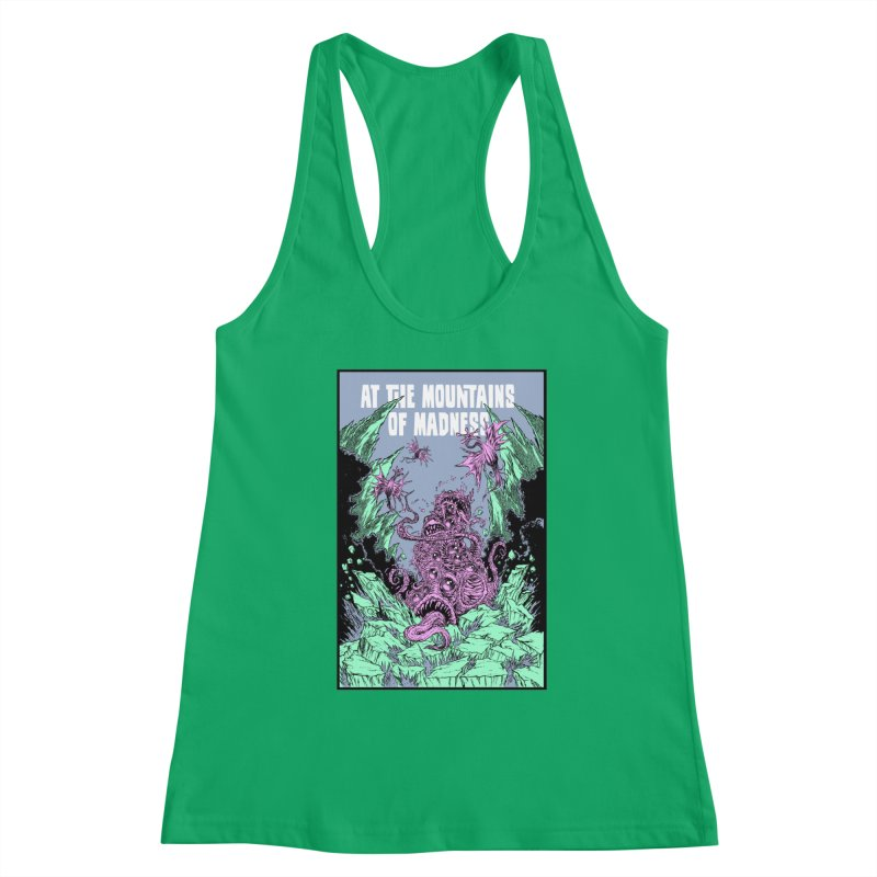 At The Mountains of Madness Women's Tank by Nick the Hat