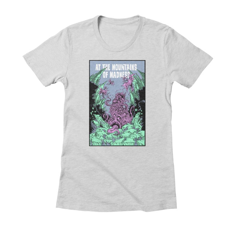 At The Mountains of Madness Women's T-Shirt by Nick the Hat