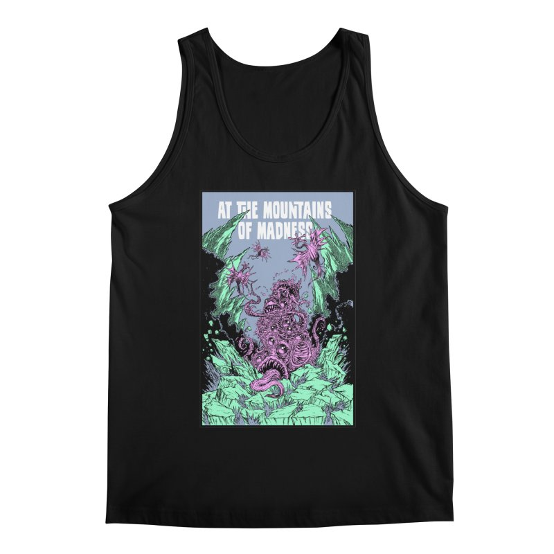 At The Mountains of Madness Men's Regular Tank by Nick the Hat