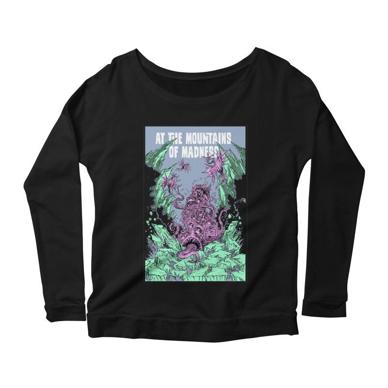At The Mountains of Madness Women's Longsleeve T-Shirt by Nick the Hat
