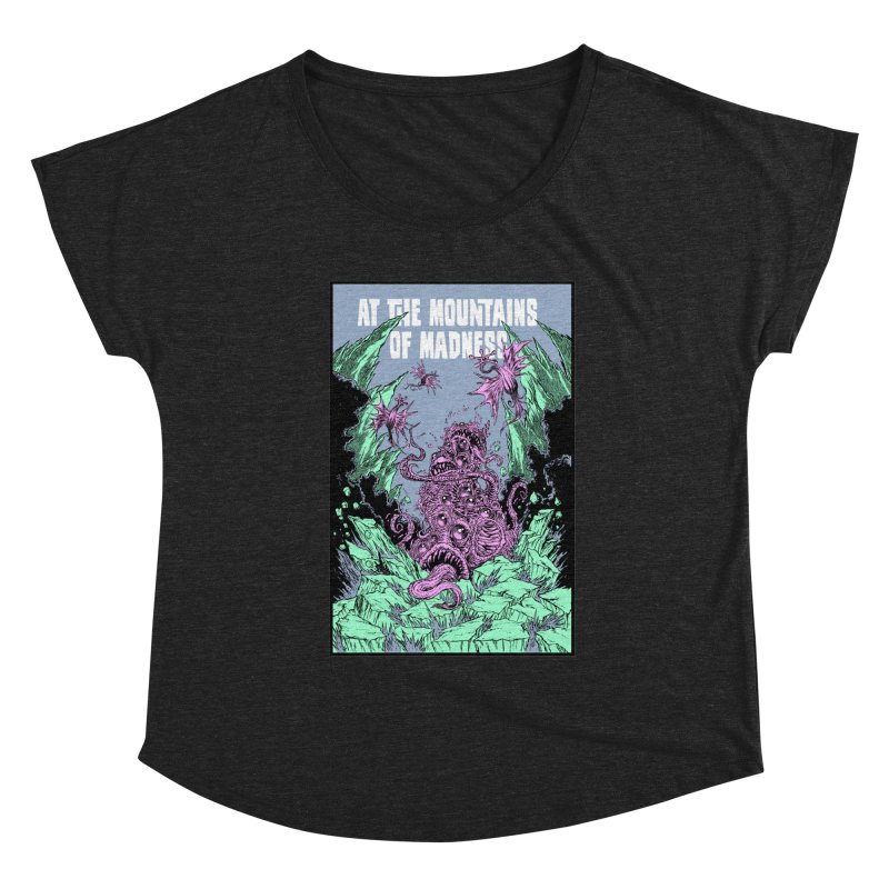 At The Mountains of Madness Women's Scoop Neck by Nick the Hat