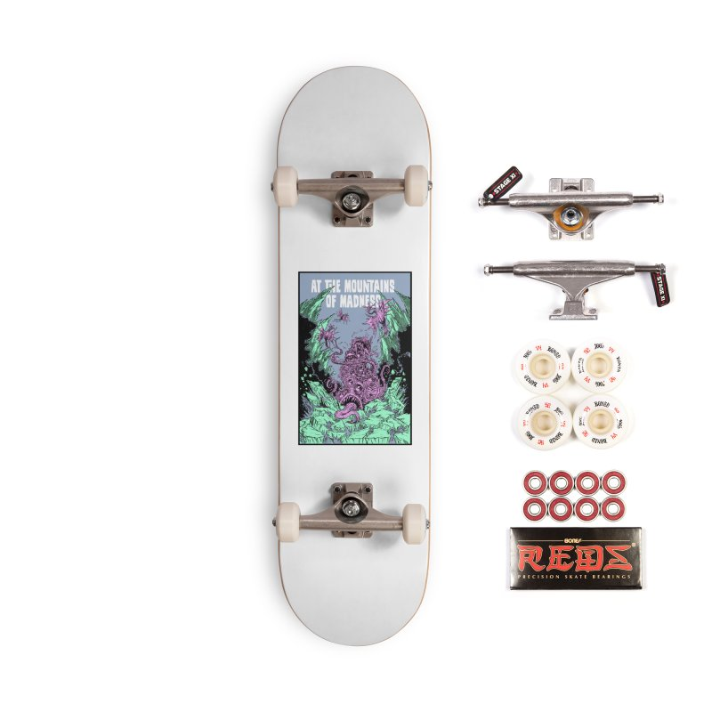 At The Mountains of Madness Accessories Complete - Pro Skateboard by Nick the Hat