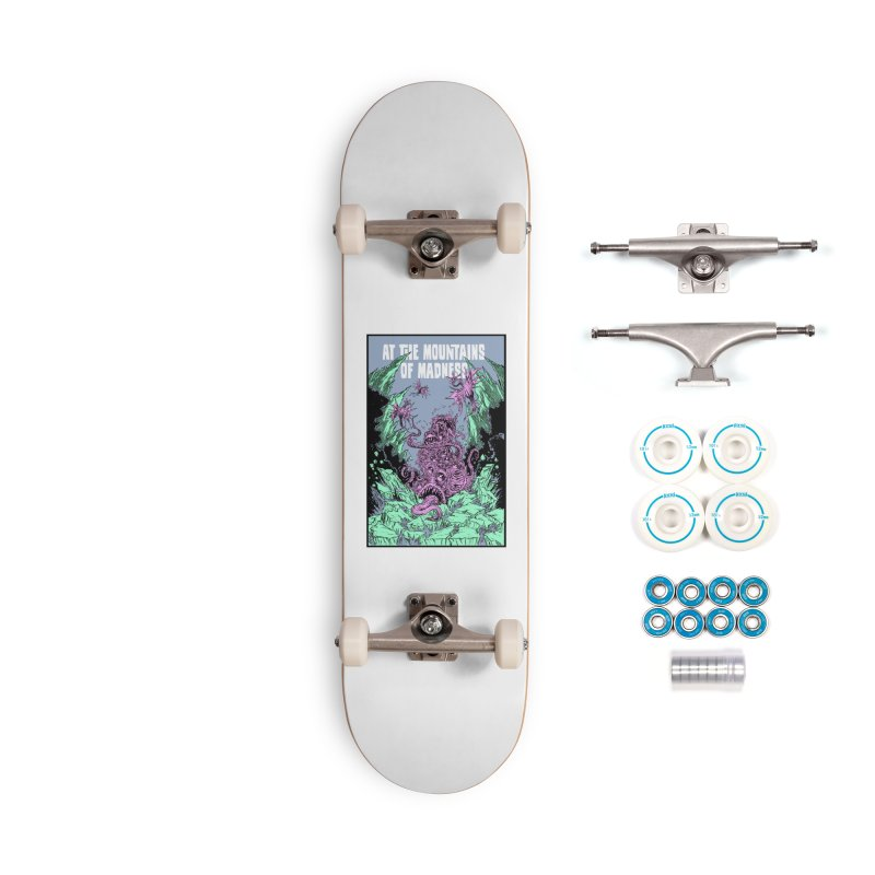 At The Mountains of Madness Accessories Skateboard by Nick the Hat
