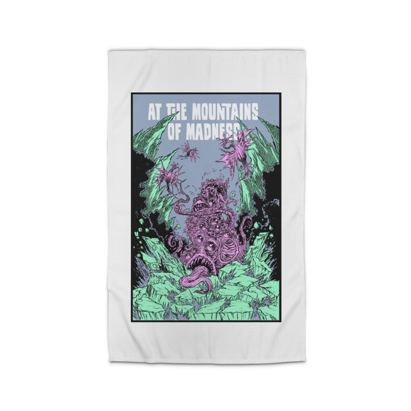 At The Mountains of Madness Home Rug by Nick the Hat