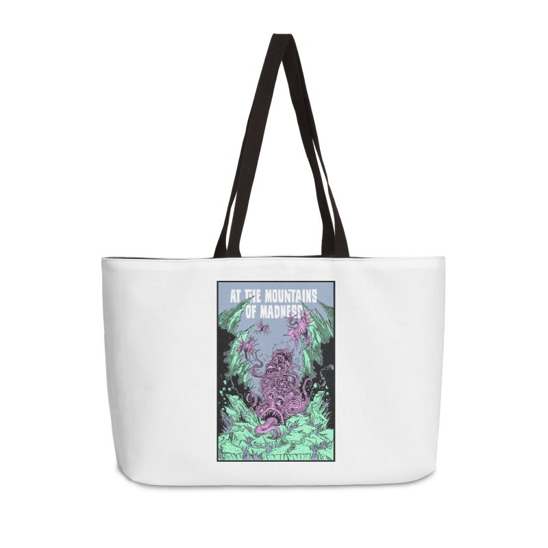 At The Mountains of Madness Accessories Weekender Bag Bag by Nick the Hat