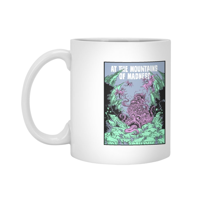 At The Mountains of Madness Accessories Mug by Nick the Hat