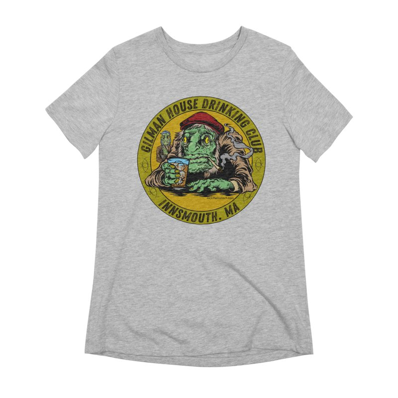 Gilman House Drinking Club Women's Extra Soft T-Shirt by Nick the Hat