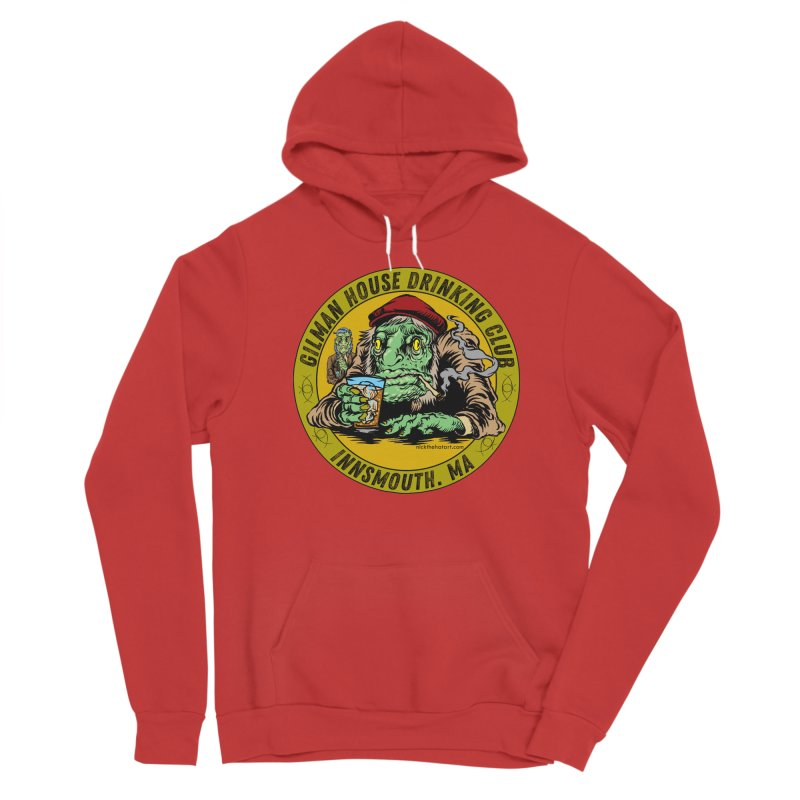 Gilman House Drinking Club Men's Pullover Hoody by Nick the Hat