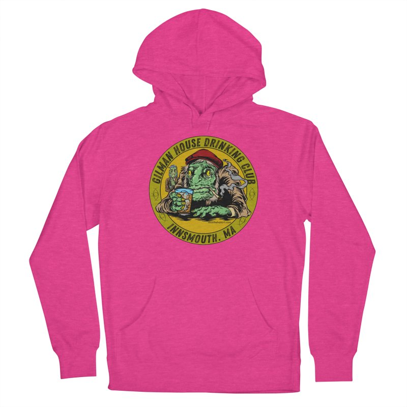 Gilman House Drinking Club Women's Pullover Hoody by Nick the Hat