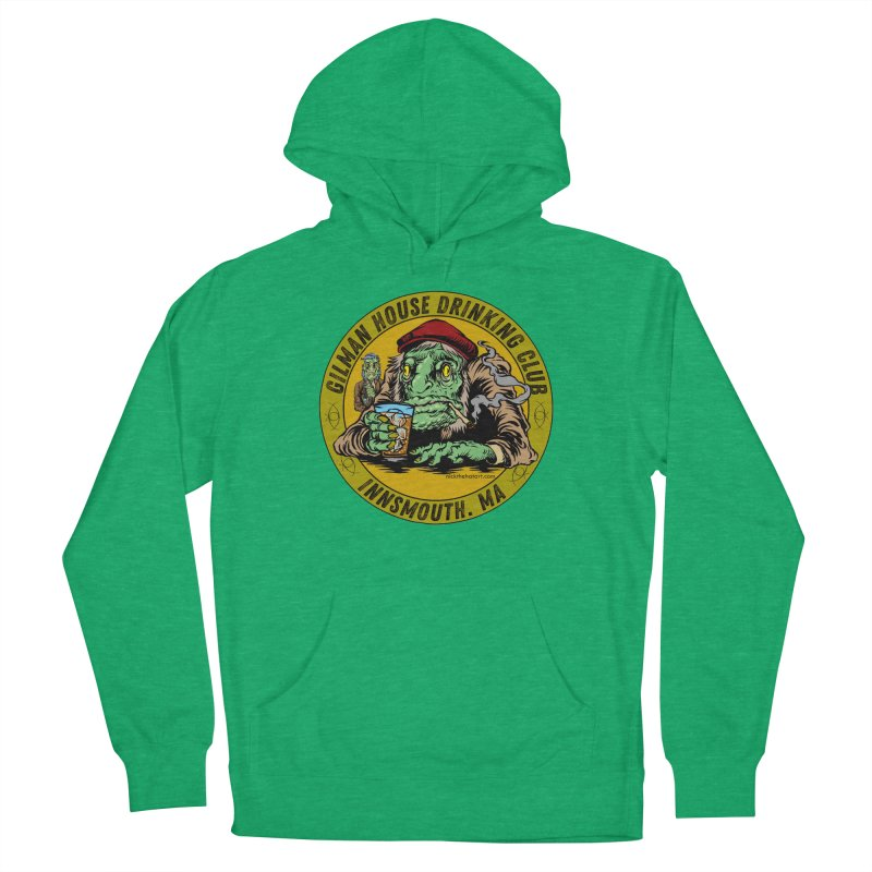 Gilman House Drinking Club Men's French Terry Pullover Hoody by Nick the Hat