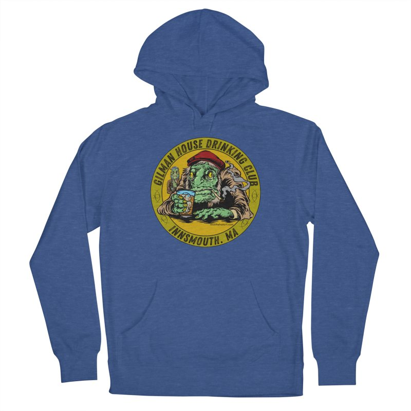 Gilman House Drinking Club Women's French Terry Pullover Hoody by Nick the Hat