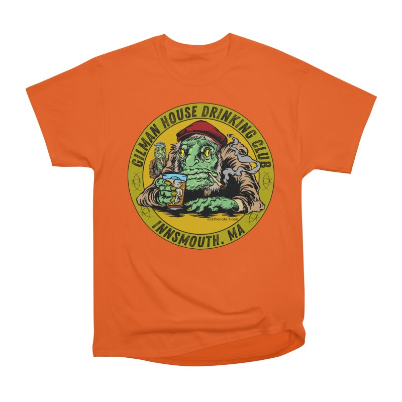 Gilman House Drinking Club Men's T-Shirt by Nick the Hat