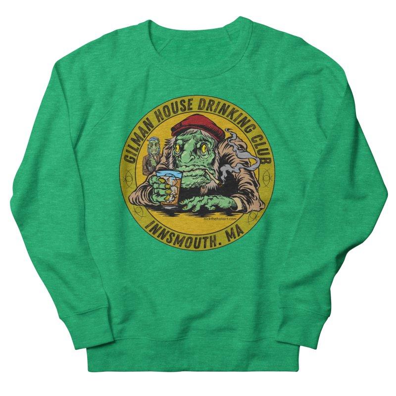 Gilman House Drinking Club Men's Sweatshirt by Nick the Hat