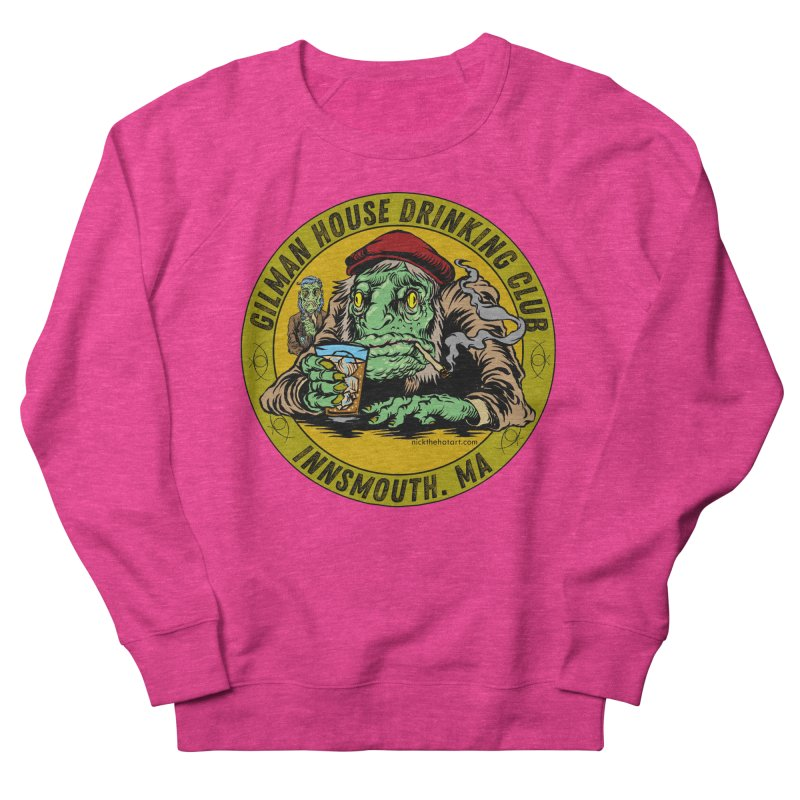 Gilman House Drinking Club Men's French Terry Sweatshirt by Nick the Hat