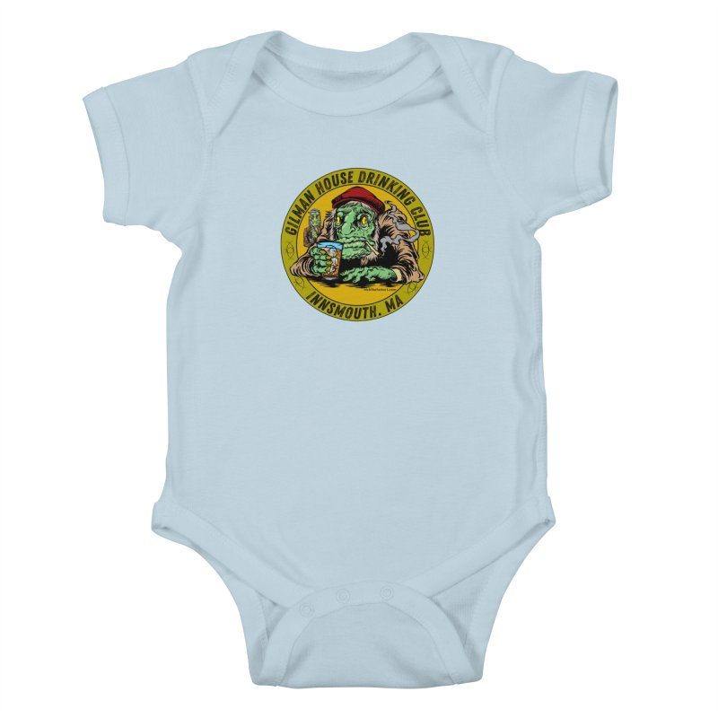 Gilman House Drinking Club Kids Baby Bodysuit by Nick the Hat