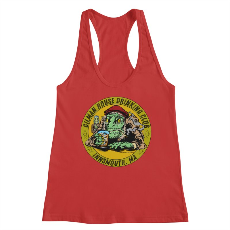 Gilman House Drinking Club Women's Tank by Nick the Hat
