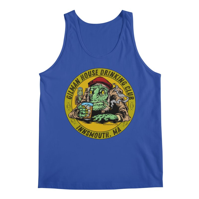 Gilman House Drinking Club Men's Tank by Nick the Hat