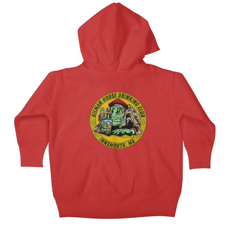 Gilman House Drinking Club Kids Baby Zip-Up Hoody by Nick the Hat