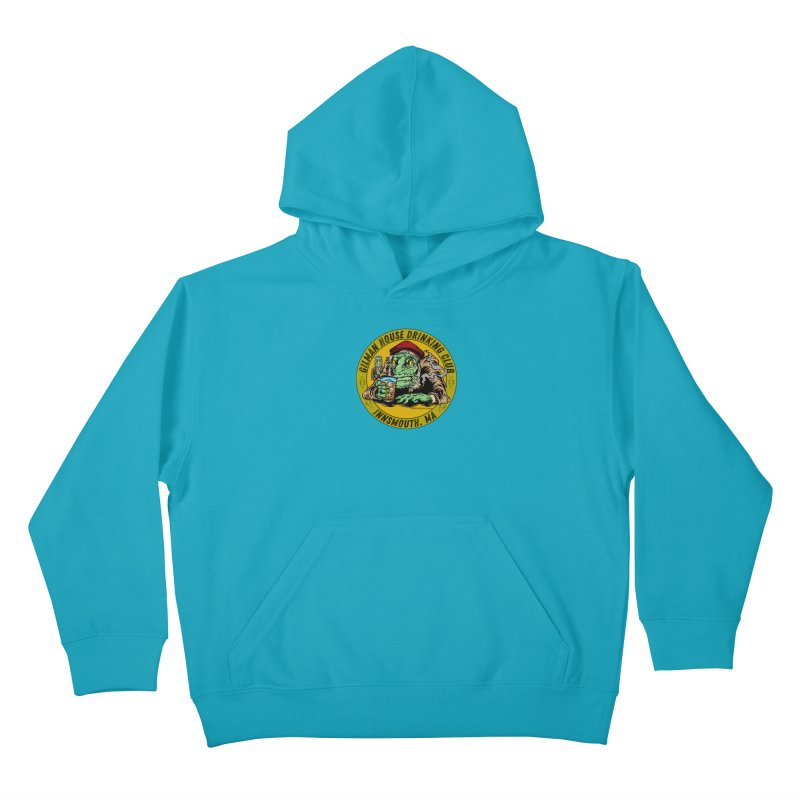 Gilman House Drinking Club Kids Pullover Hoody by Nick the Hat