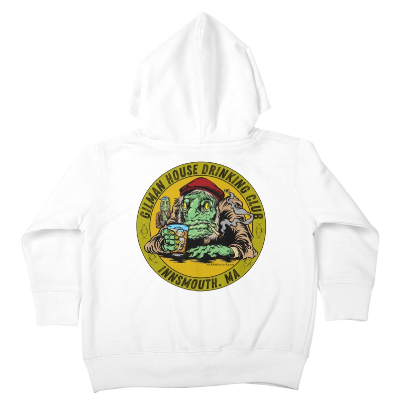 Gilman House Drinking Club Kids Toddler Zip-Up Hoody by Nick the Hat