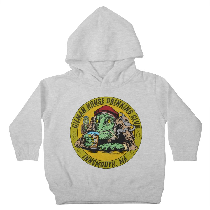 Gilman House Drinking Club Kids Toddler Pullover Hoody by Nick the Hat