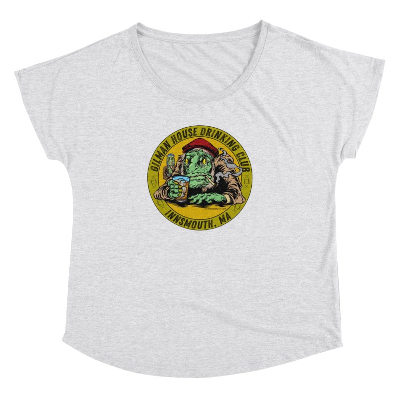 Gilman House Drinking Club Women's Dolman Scoop Neck by Nick the Hat