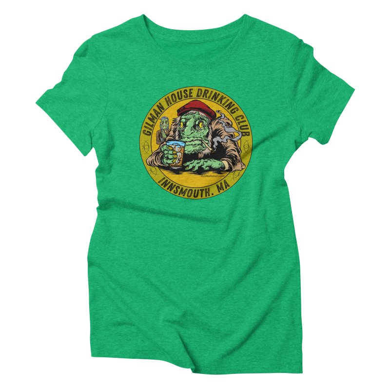 Gilman House Drinking Club Women's Triblend T-Shirt by Nick the Hat
