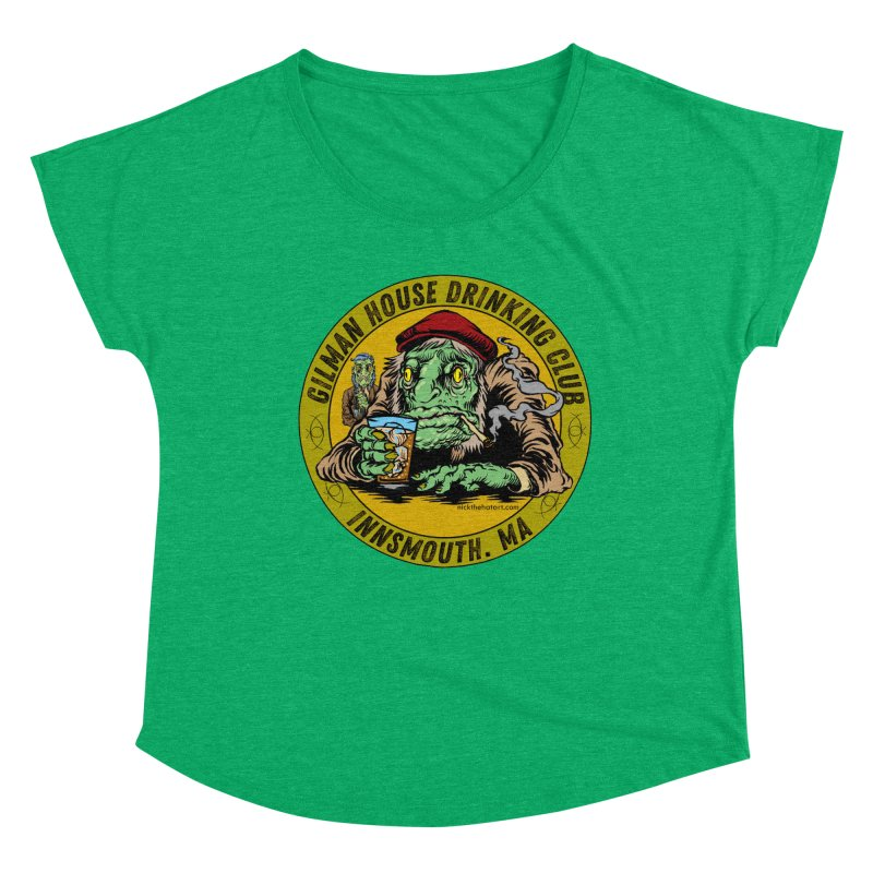 Gilman House Drinking Club Women's Scoop Neck by Nick the Hat