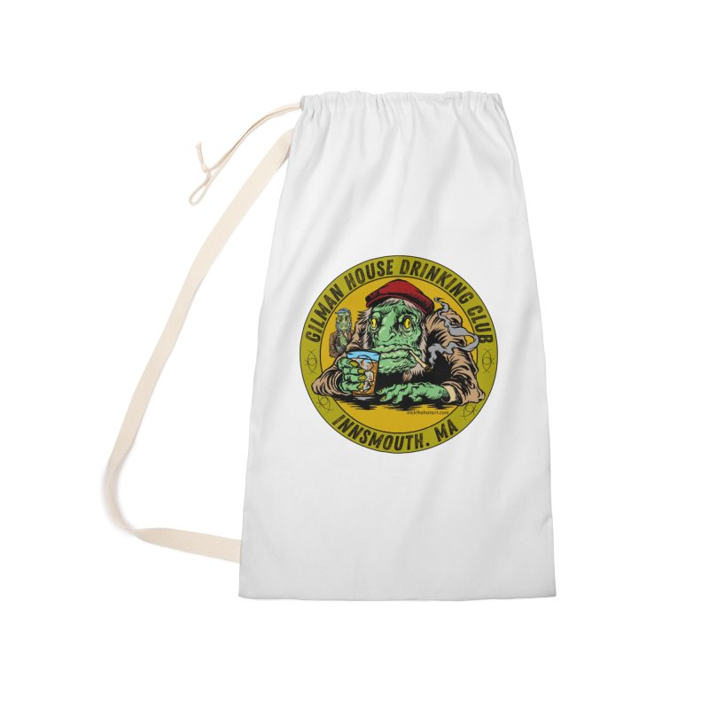 Gilman House Drinking Club Accessories Laundry Bag Bag by Nick the Hat