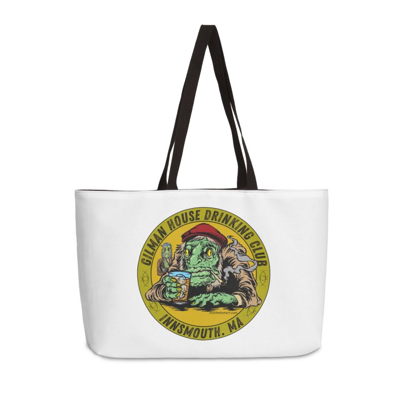 Gilman House Drinking Club Accessories Weekender Bag Bag by Nick the Hat