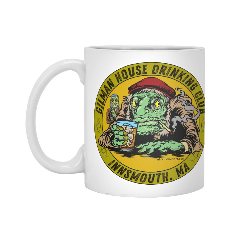Gilman House Drinking Club Accessories Standard Mug by Nick the Hat