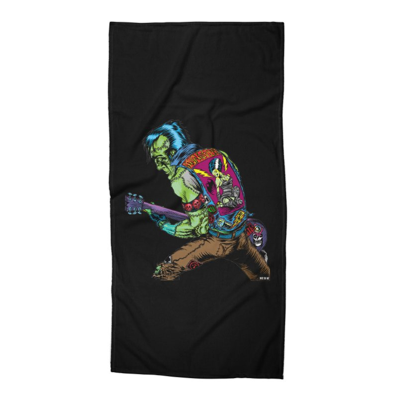 Rockenstein Accessories Beach Towel by Nick the Hat
