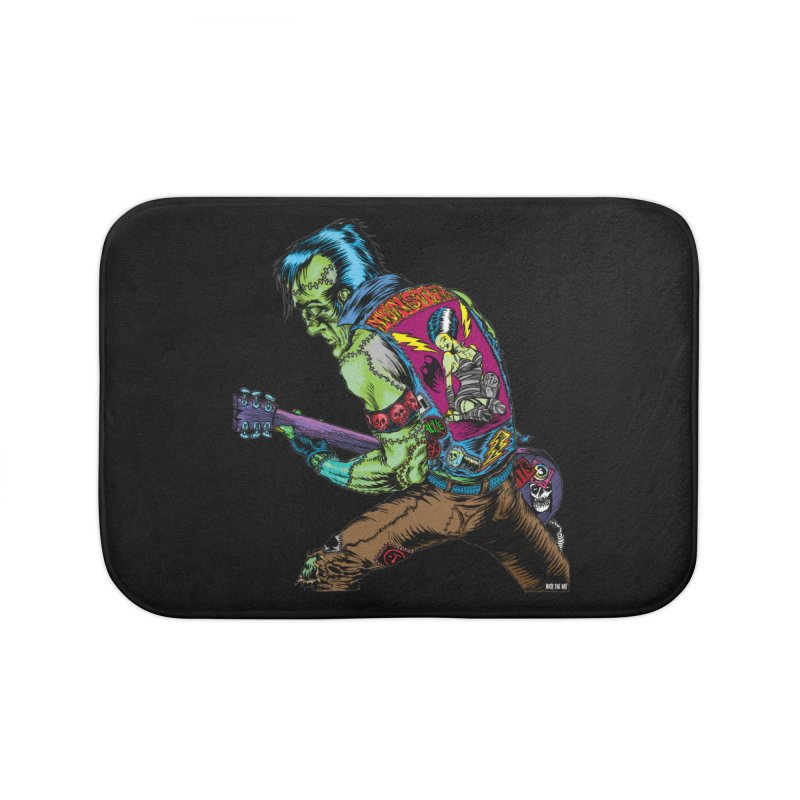 Rockenstein Home Bath Mat by Nick the Hat