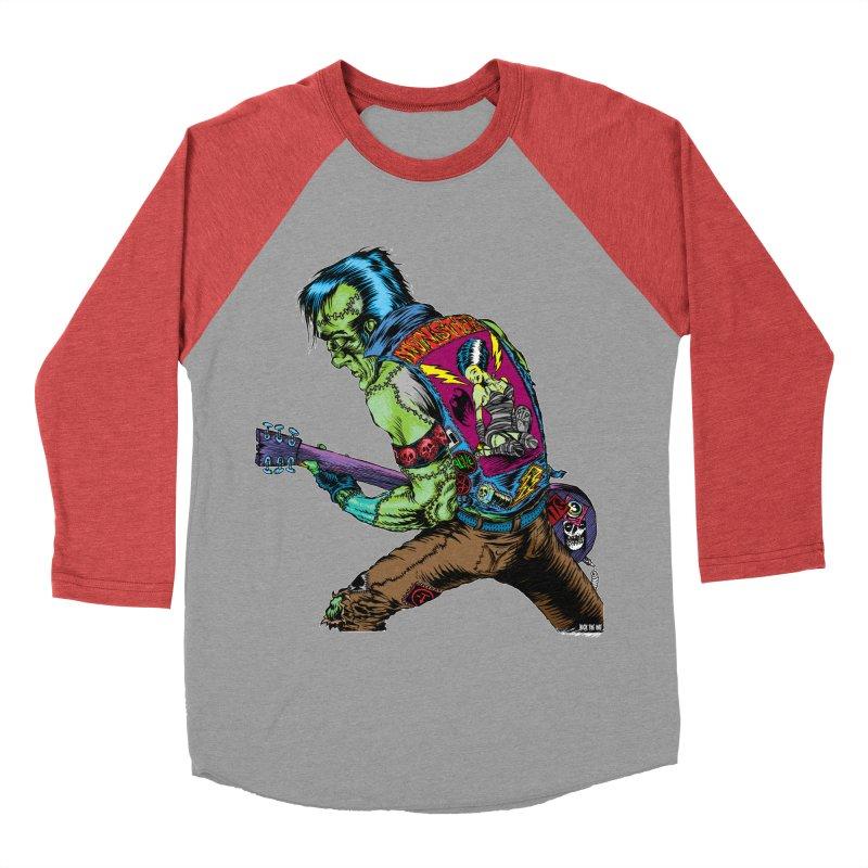 Rockenstein Men's Baseball Triblend T-Shirt by Nick the Hat