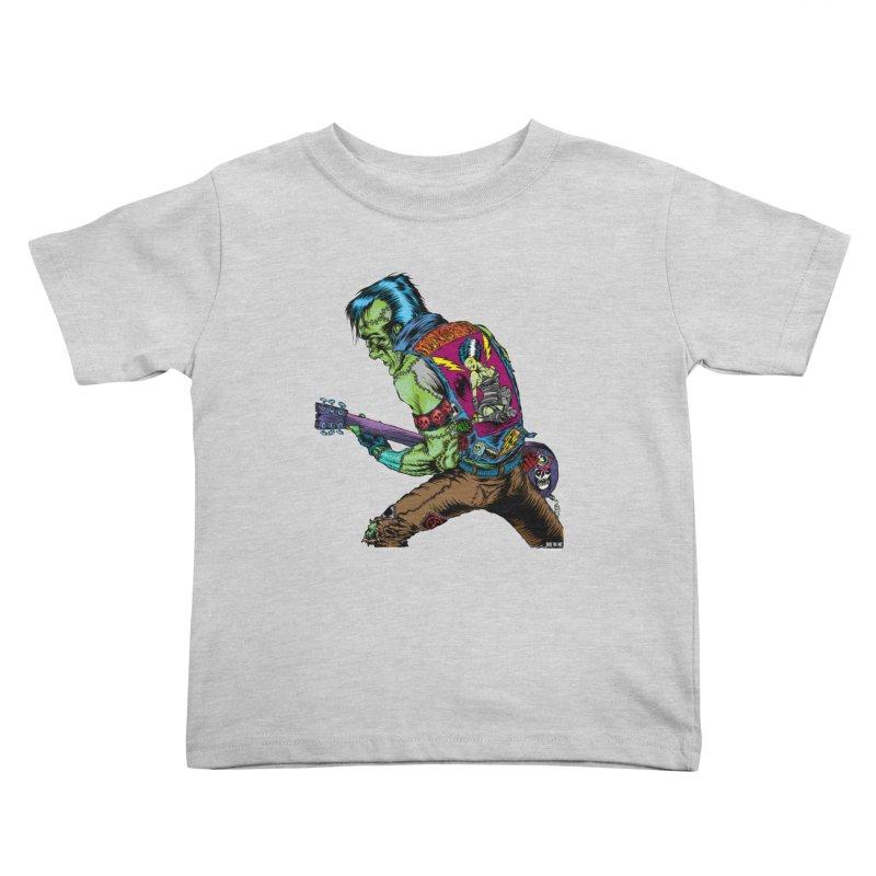 Rockenstein Kids Toddler T-Shirt by Nick the Hat