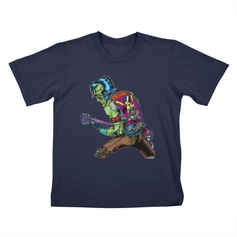 Rockenstein Kids T-Shirt by Nick the Hat