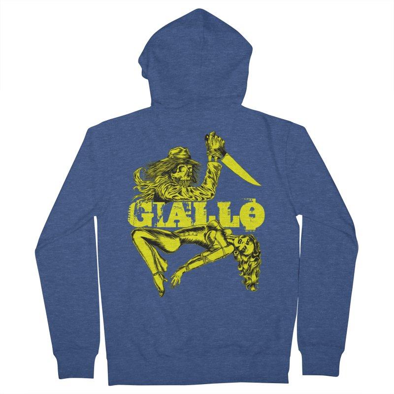 Giallo Men's Zip-Up Hoody by Nick the Hat