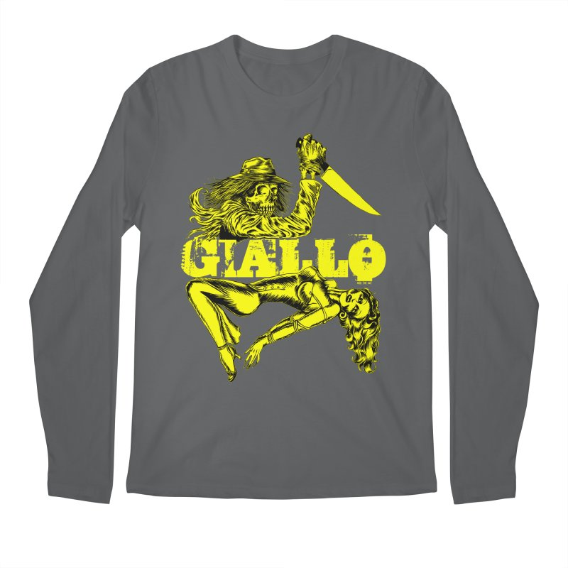 Giallo Men's Longsleeve T-Shirt by Nick the Hat